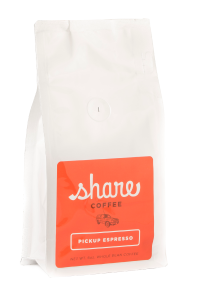 Pickup Espresso coffee bag