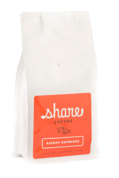 Pickup Espresso coffee bag